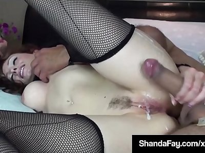 Horny Housewife Shanda Fay Gets Fucked By Voyeur Peeping Tom